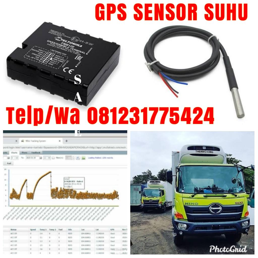 GPS Sensor Suhu - GPS Sensor Temperatur