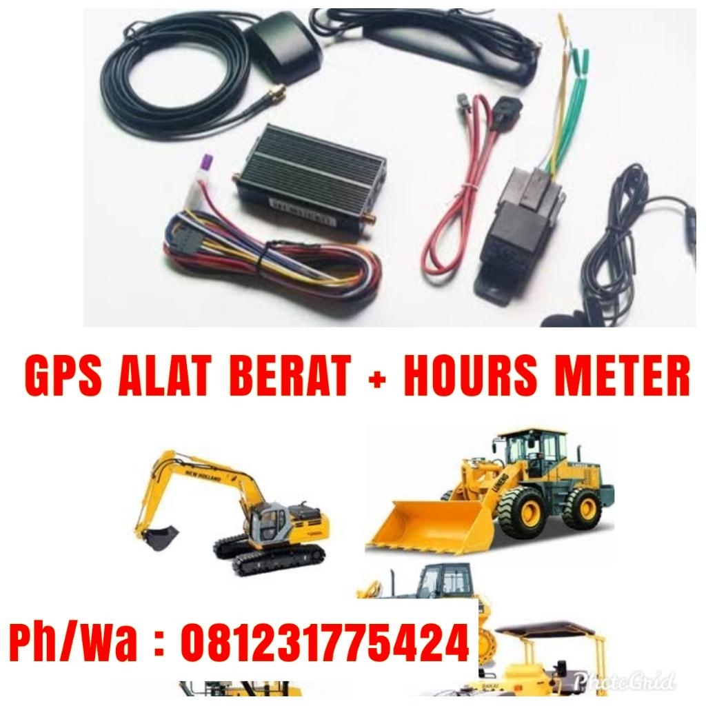 GPS ALAT BERAT Sensor Hours Meter
